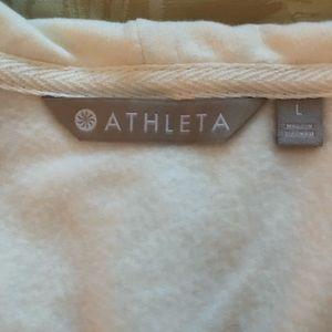 Athleta hoodie sz L